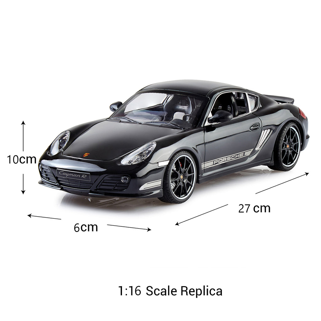 Remote Control Porsche Cayman R, Officially Licensed 1:16 Scale Model