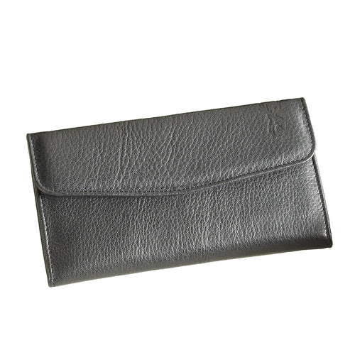 Black Ladies Zip Purse