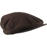 Ladies or Gents Deerskin Flat cap