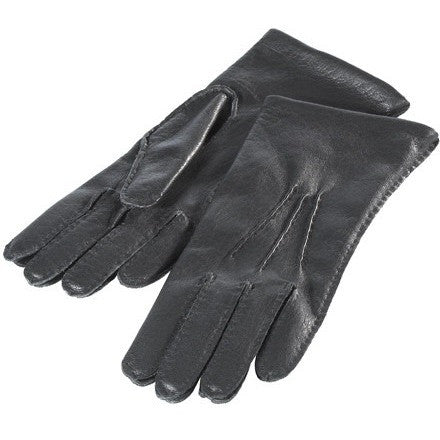 Black Ladies Deerskin Leather Gloves