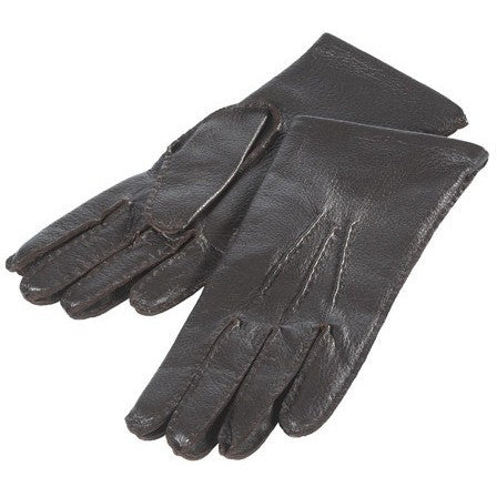 Teak Ladies Deerskin Leather Gloves