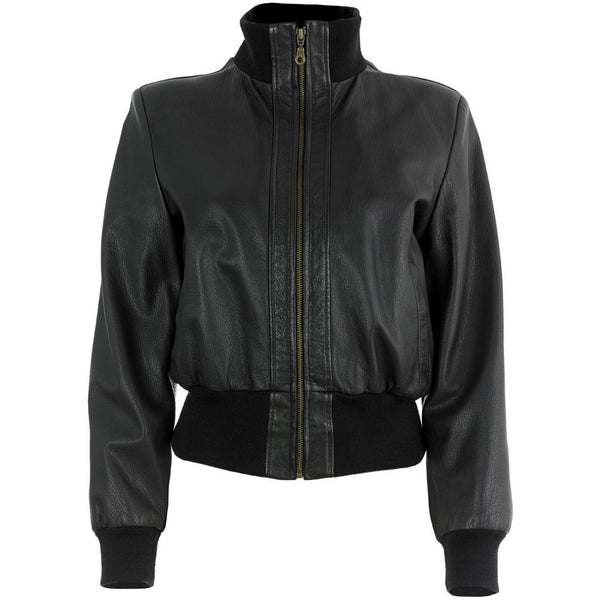 Bomber Jacket Front Zipped