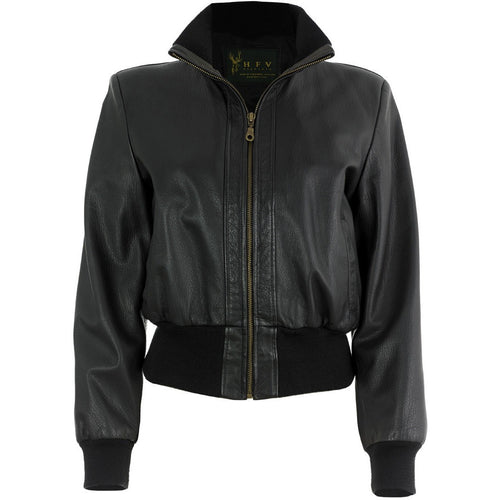 Bomber Jacket Front Open