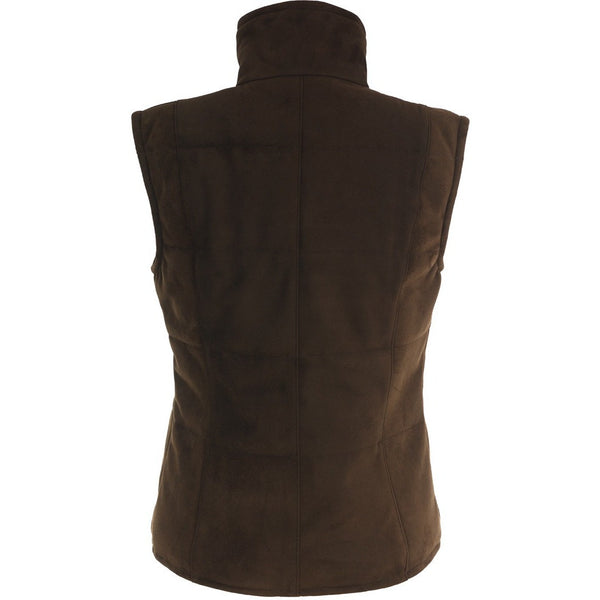 Short Quilted Gillet Back