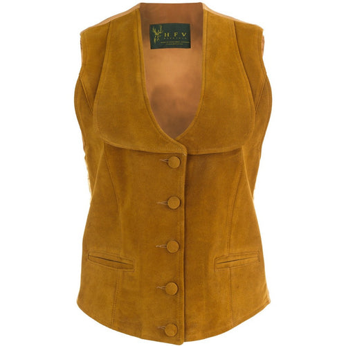 Short Waistcoat With Lapels Front