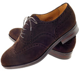 Jura Full Oxford Brogues Side Detail 2