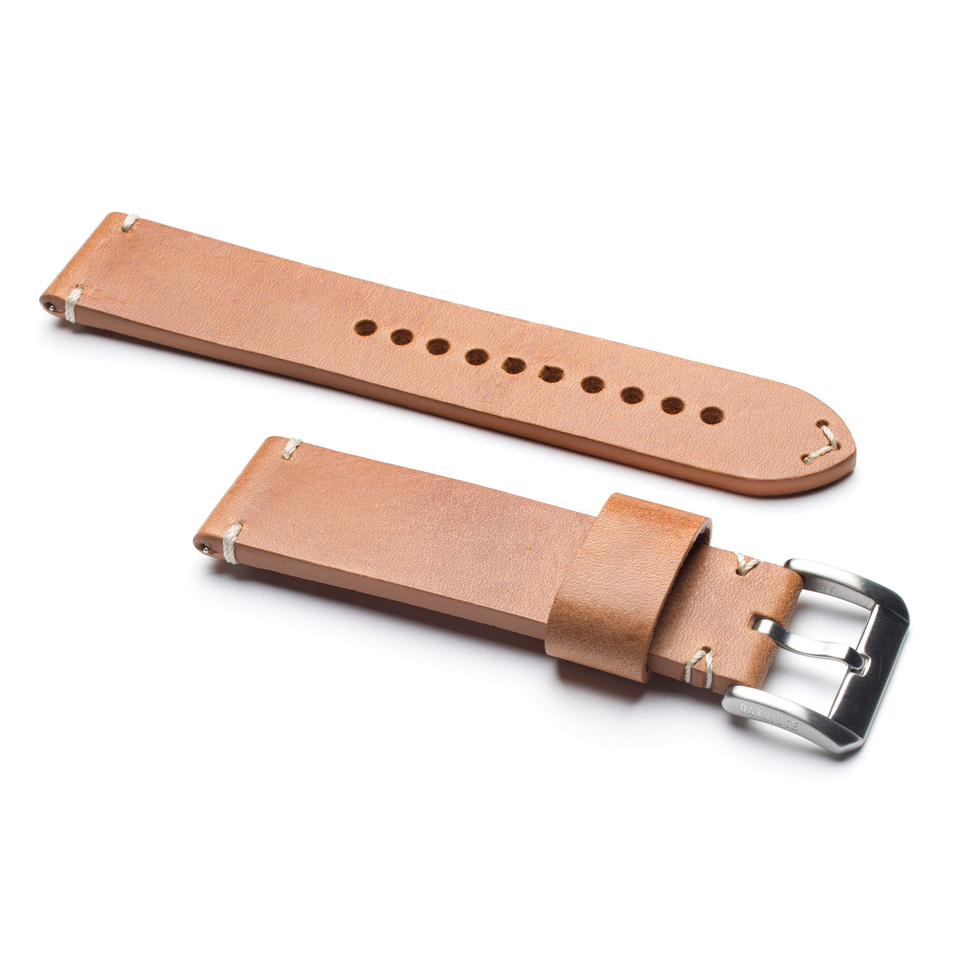 Birch Italian Full Grain Leather Strap