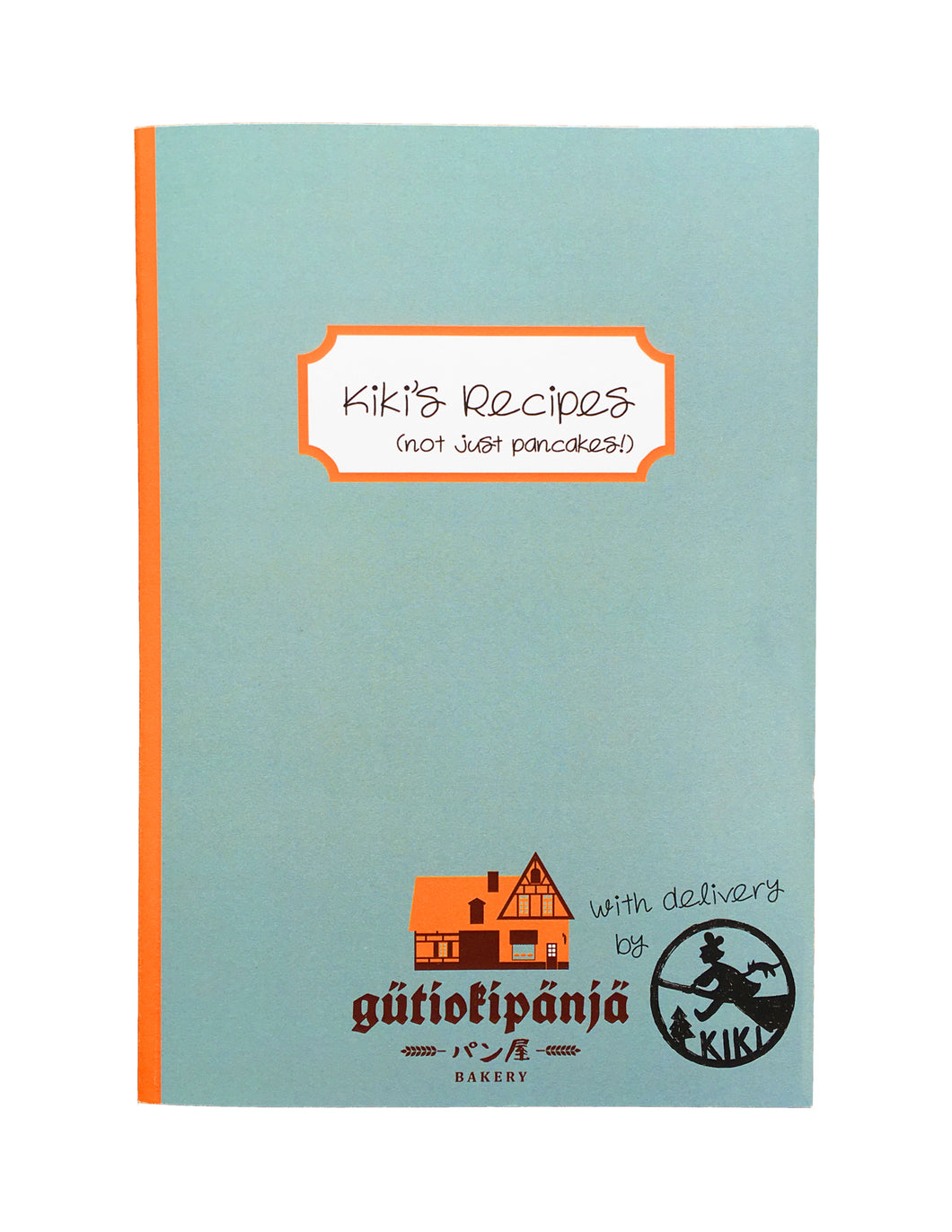 studio ghibli plain paper notebook kiki