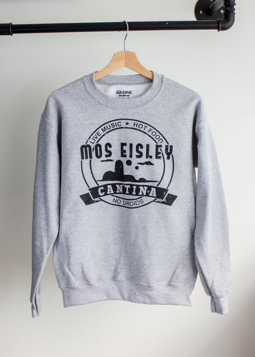 star wars sweater with mos eisley cantina print