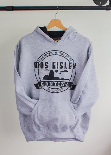 Mos Eisley Cantina, Star Wars Design | Grey Hoodie