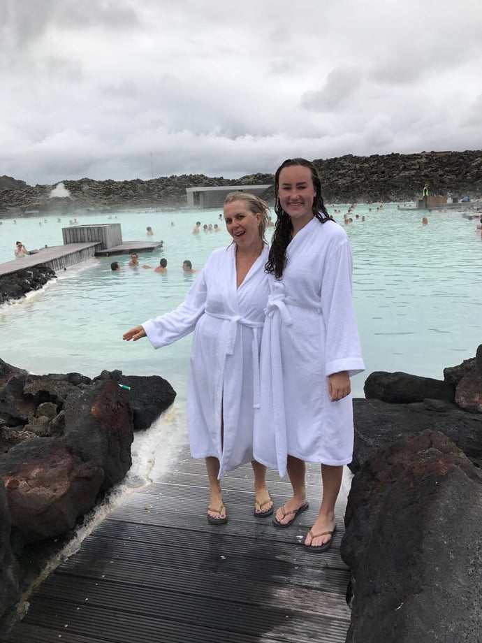 Iceland (part 4)  - Spa day, the Blue Lagoon, hair conditioner & a quick watercolor.