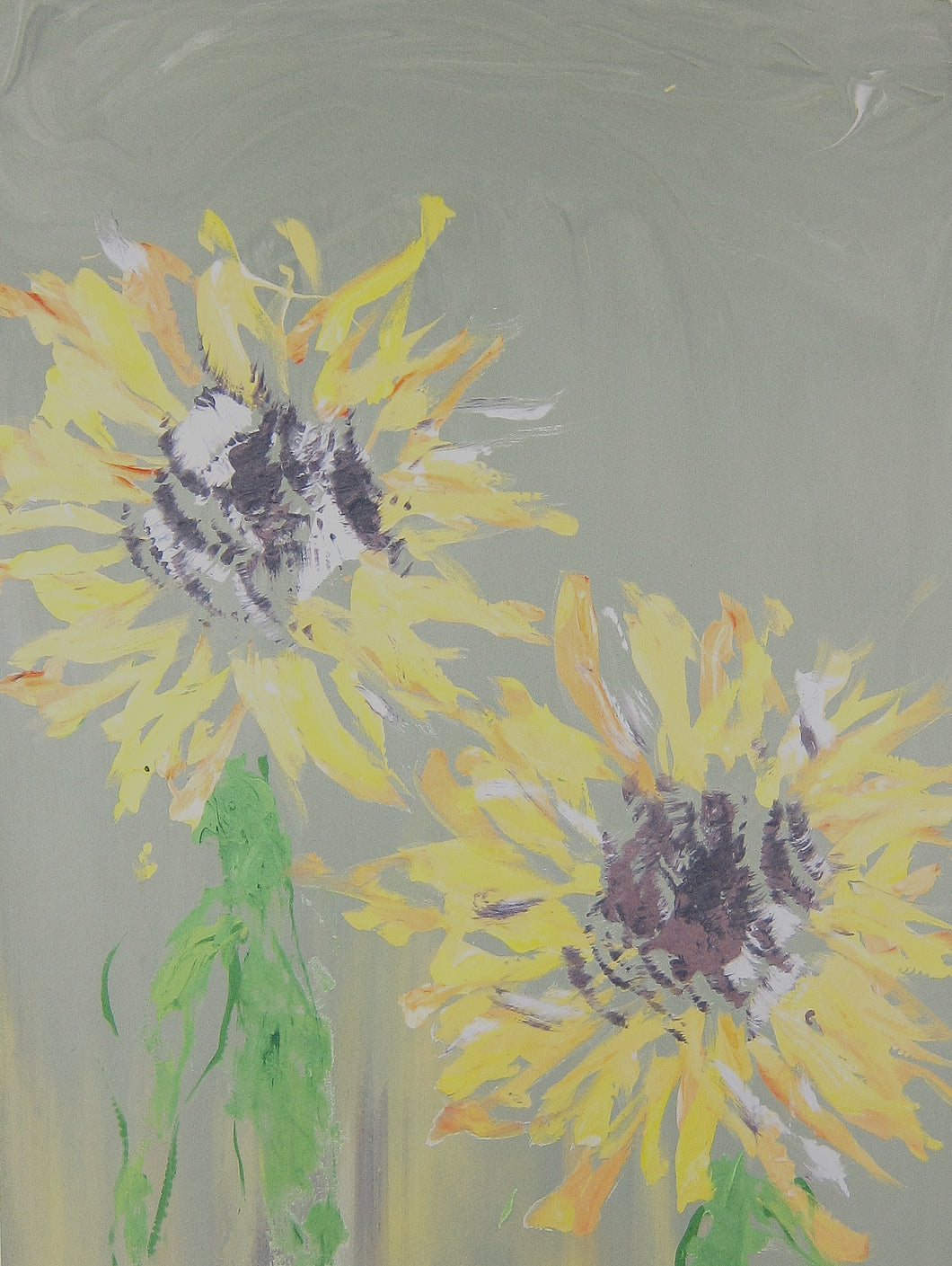 Super Bloom 102 (Sunflowers in the City mist)