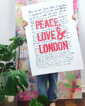 Peace, Love & London