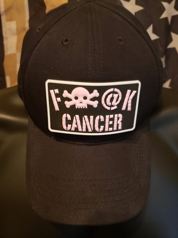 FUCK CANCER VELCRO BACKED PVC PATCH