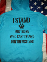 WOMEN'S I STAND RESCUE PULLOVER HOODIE (3 Colors)