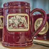 Signature CERBERUS LETHAL BREED 20 ounce Stein - RED