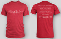 MEN'S UNBROKEN RED