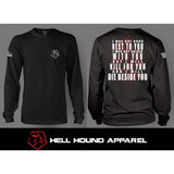 BESIDE YOU LONG SLEEVE BLACK