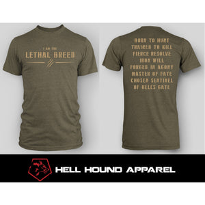 I AM THE LETHAL BREED 2ND GEN - 3 COLOR COMBOS