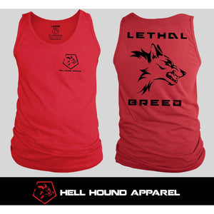 LETHAL BREED 2ND GEN TANK RED