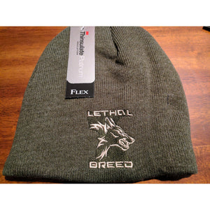 LETHAL BREED OD GREEN BEANIE
