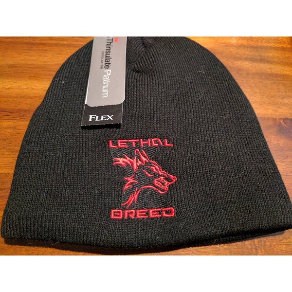 LETHAL BREED BLACK BEANIE