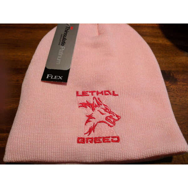 LETHAL BREED PINK BEANIE