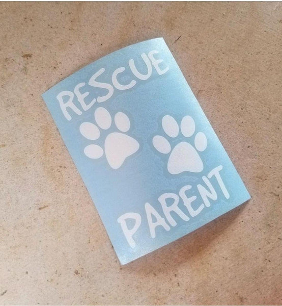 RESCUE PARENT PREMIUM VINYL DECAL