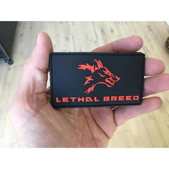 LETHAL BREED VELCRO BACKED PVC PATCH