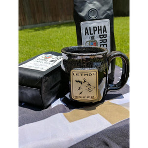 LETHAL BREED 2 TONE COFFEE MUG 16 OZ