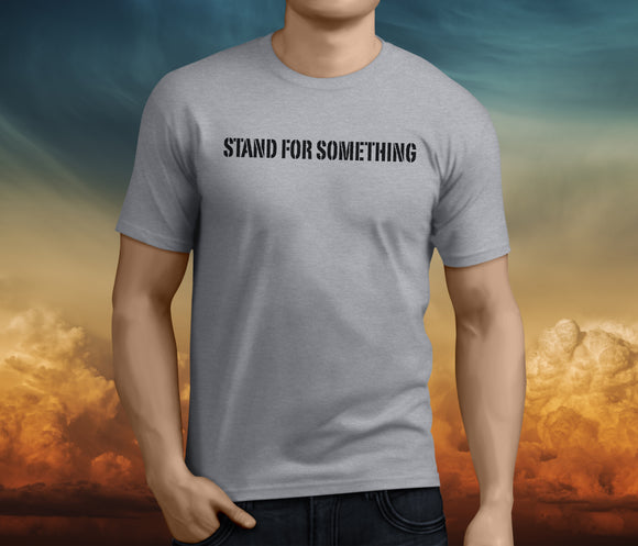 MEN'S STAND FOR SOMETHING RESCUE SHIRT