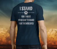 Men's STAND FOR SOMETHING Charity Shirt