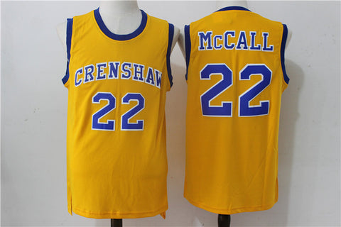 22 Quincy McCall Crenshaw High School Jersey Love and Basketball Monica Wright 32 Crenshaw Jerseys
