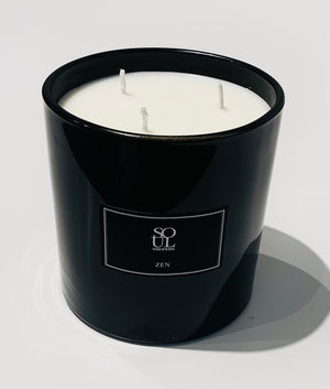 Zen Limited Edition Black 3 Wick Candle (large)