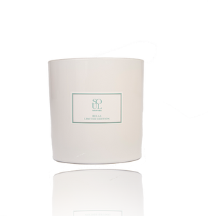 Relax 30cl Limited Edition white gloss candle