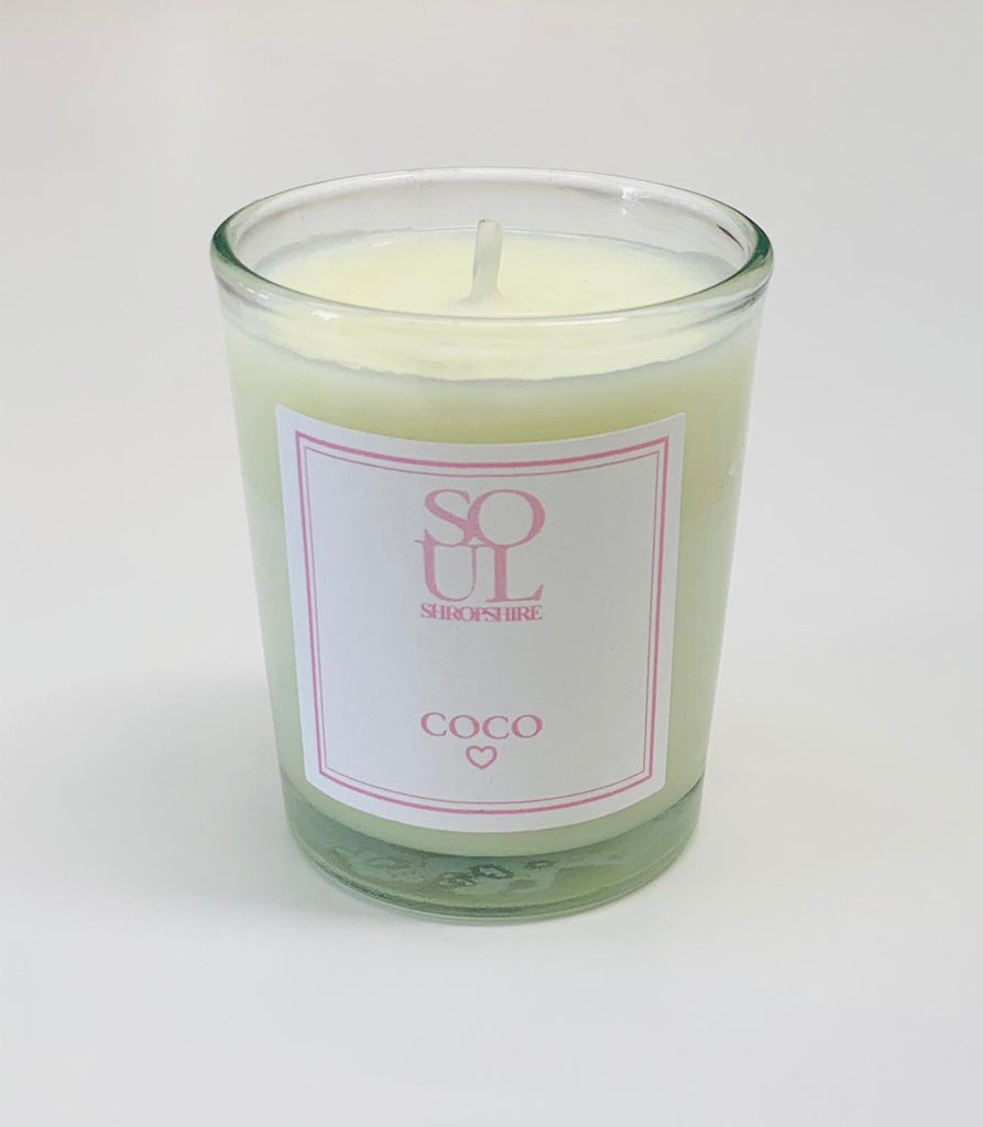 CoCo Votive Candle from Soul Shropshire