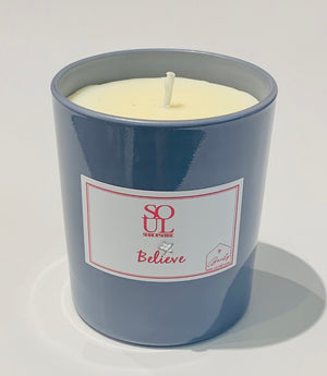Believe Limited Edition Grey 30cl Candle