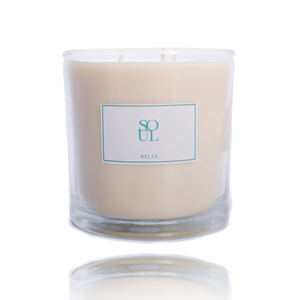 Relax large 3 wick candle