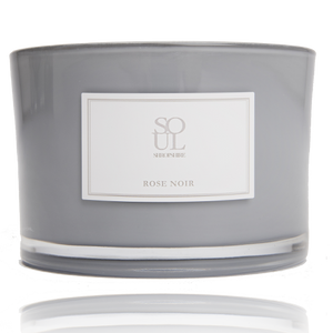Rose Noir 3 Wick (small) candle