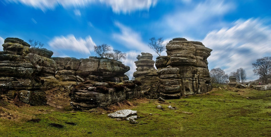 Stunning scenery, like Brimham rocks, is free to enjoy across Yorkshire