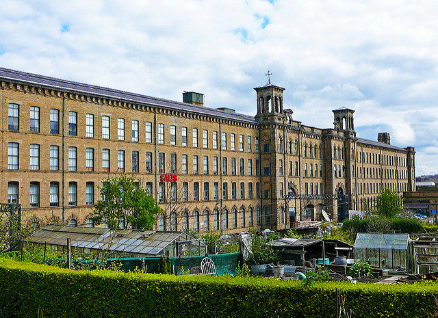 Spend a day at Salts Mill, home to Hockneys, unusual shops and great cafes