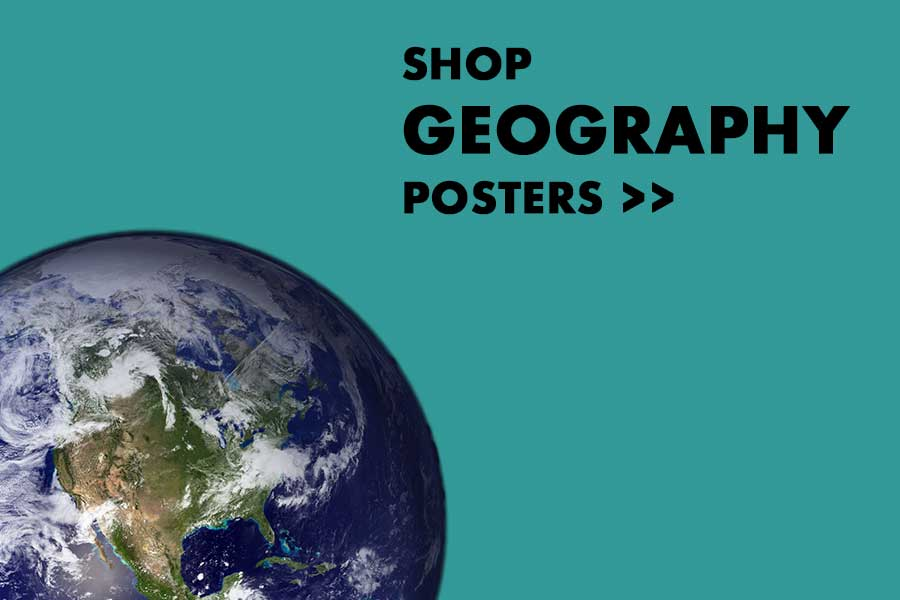 Shop Geography Posters