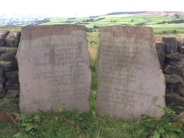The Stanza Stones, part of a 50-mile trail