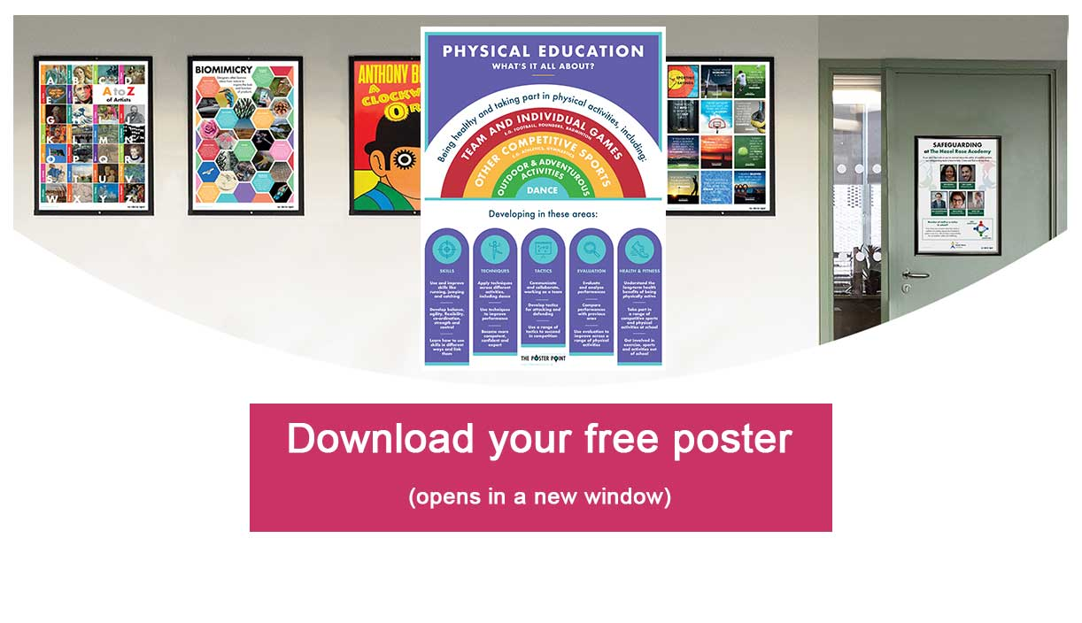 Download free PE poster