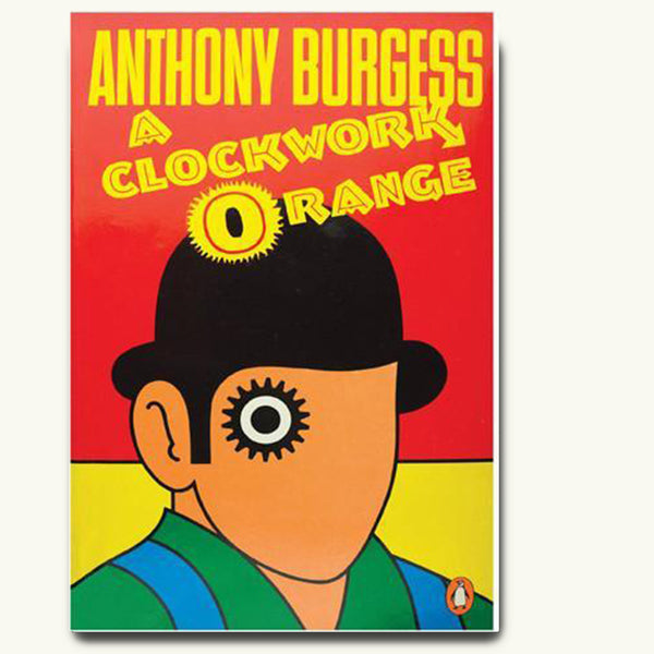 A Clockwork Orange vintage book cover poster