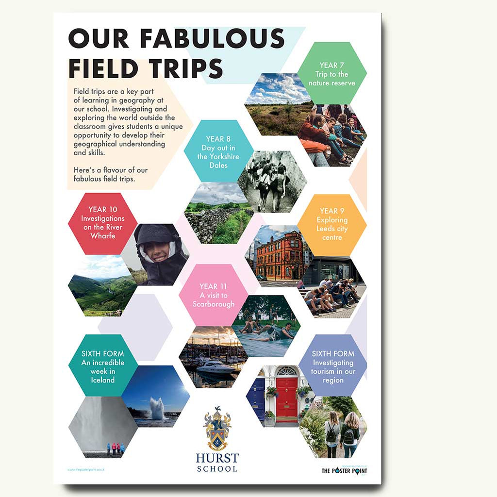 Field trips custom poster in full