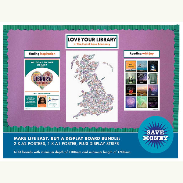 Love your library poster bundle