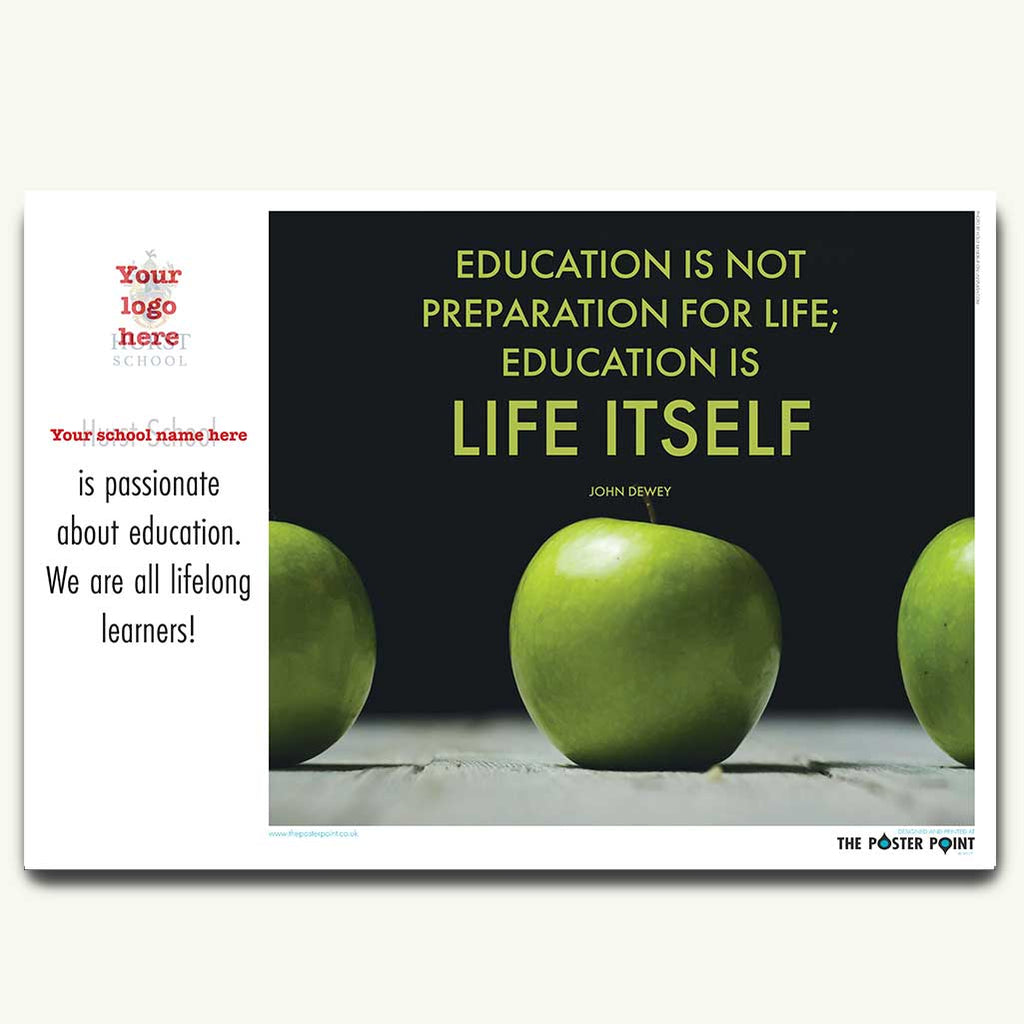 Lifelong learning poster with prompts