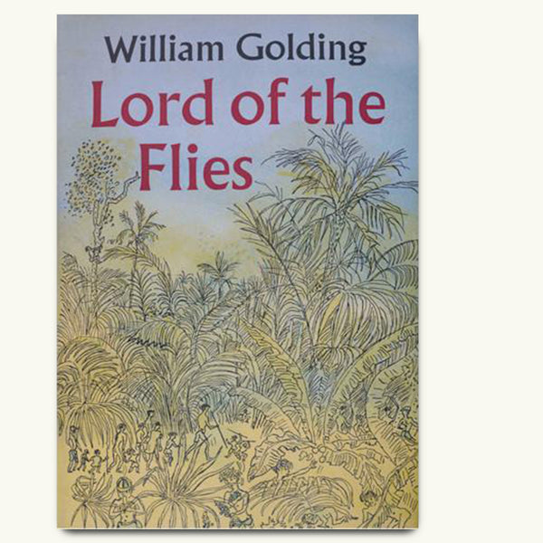 Lord of the Flies vintage book cover poster