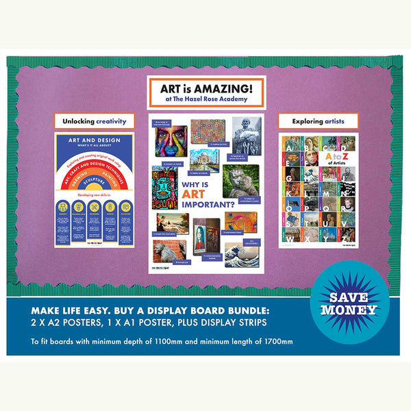Art is Amazing discount display bundle